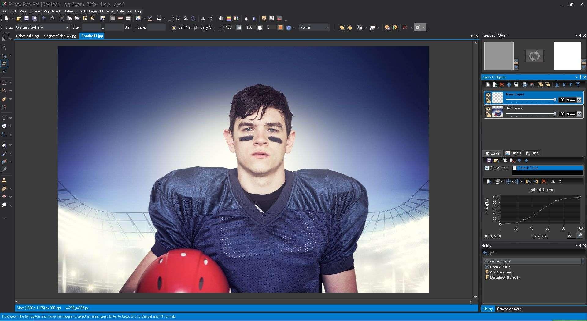 Photoshop online para editar foto 8
