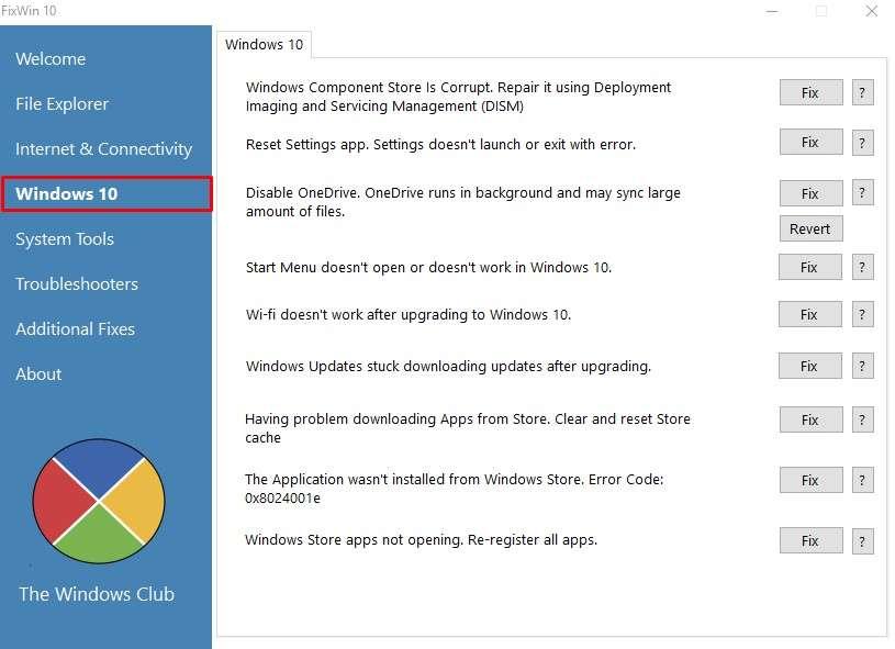 Раздел Windows 10 – Ошибки типичные для данной операционной системы