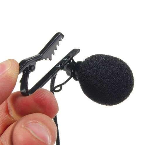 Leory Мини 3.5 мм Jack микрофон петличный