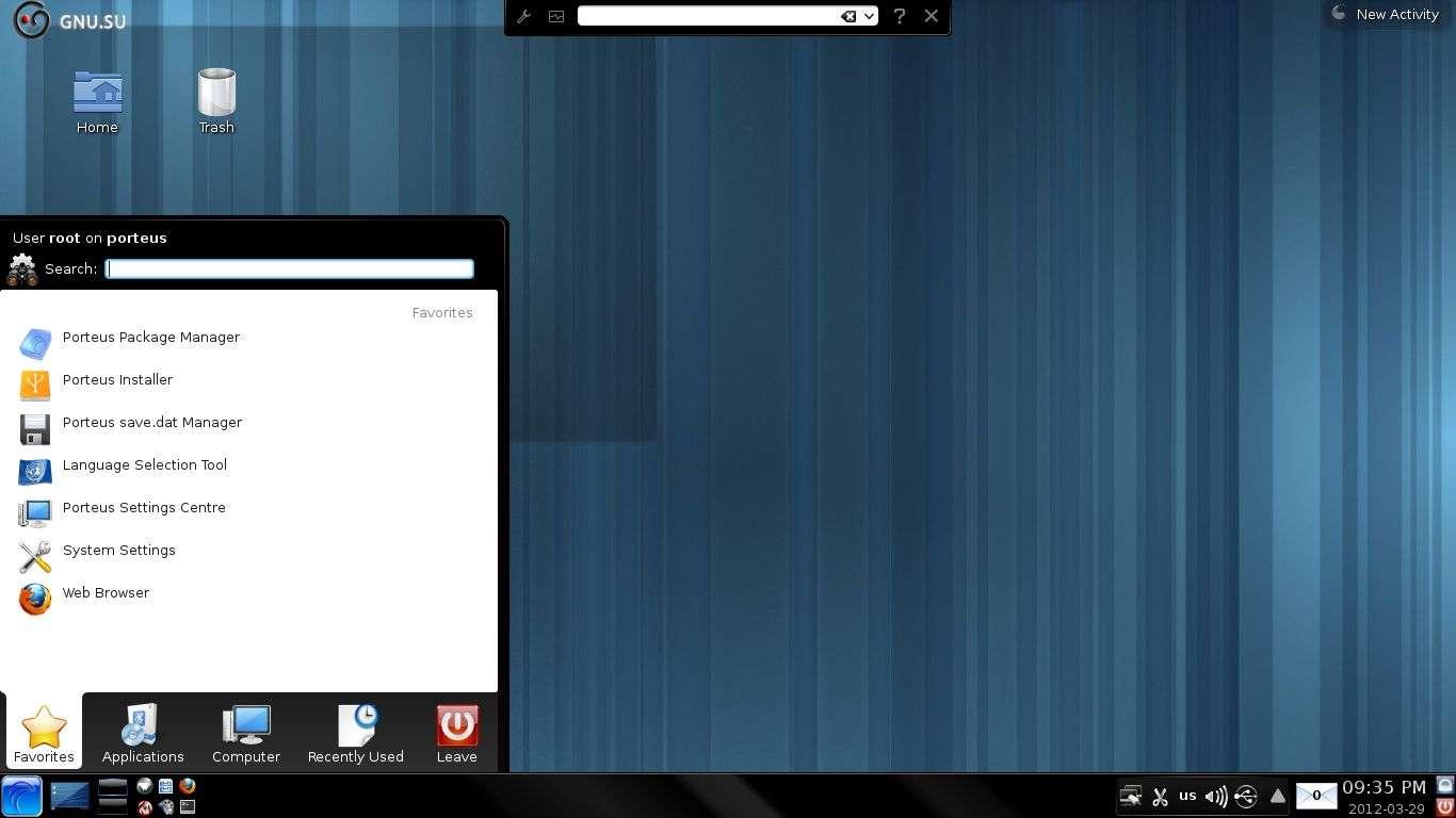Операционная система Porteus