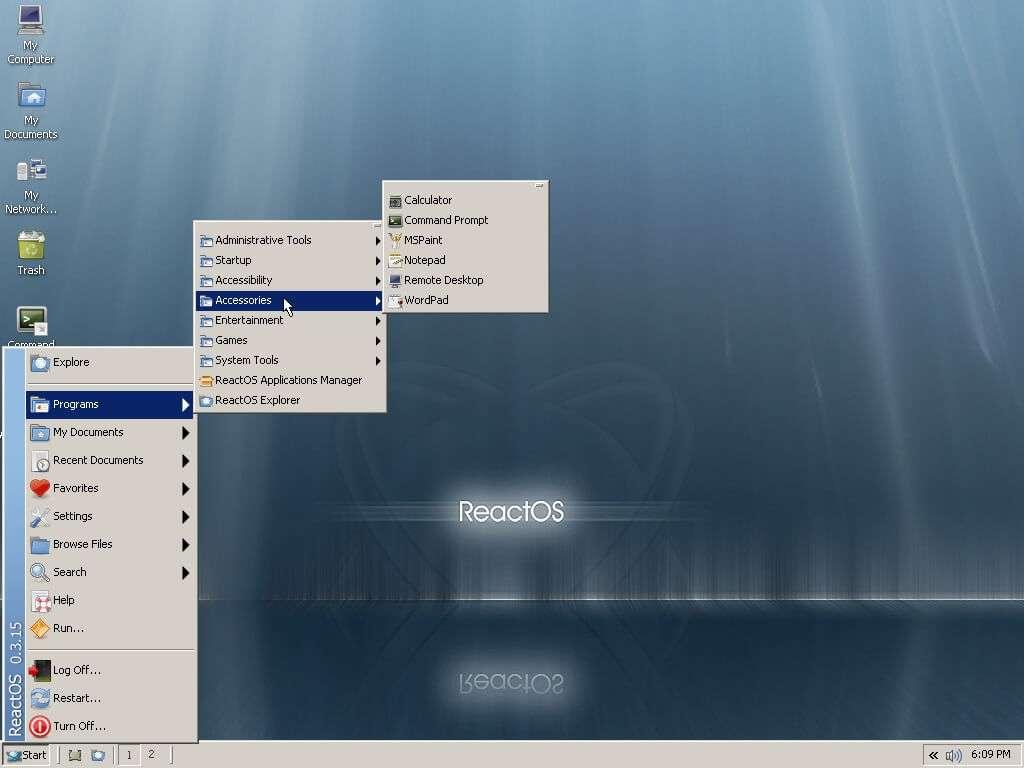 React OS - Альтернатива Windows