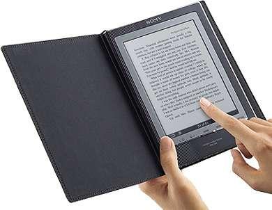 Сенсорный экран в электронной книге