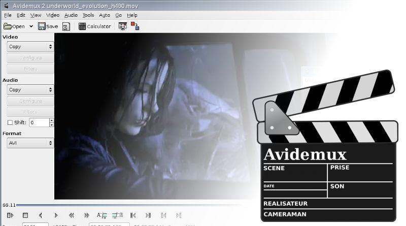 Видеоредактор «Avidemix»