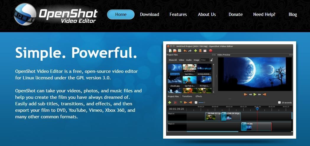 Видеоредактор «OpenShot Video Editor»
