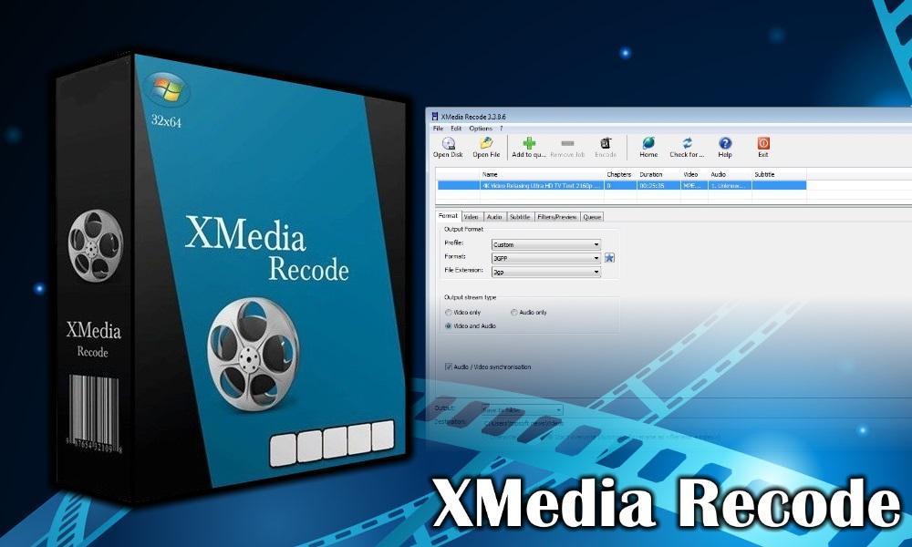Видеоредактор «XMedia Recode»