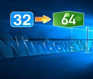 Как перейти с 32-х на 64-х битную Windows 10? Легко и без потерь!