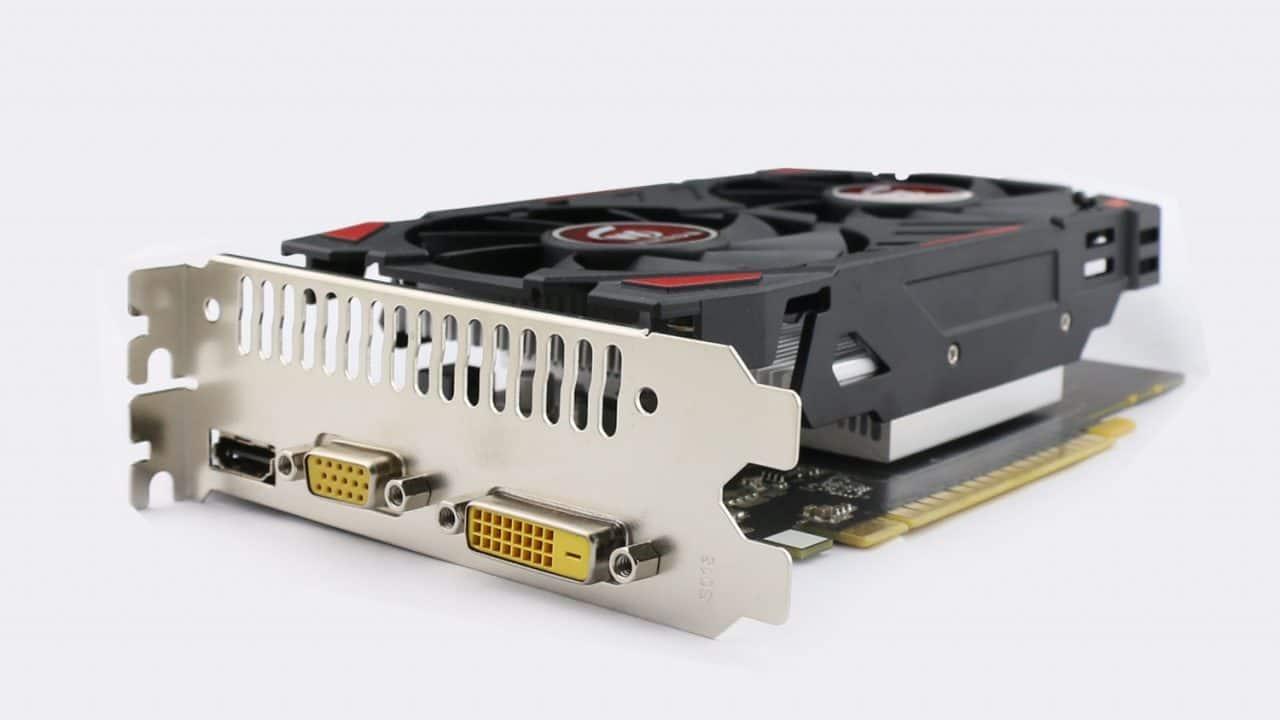 VGA DVI HDMI GTX 750 Ti
