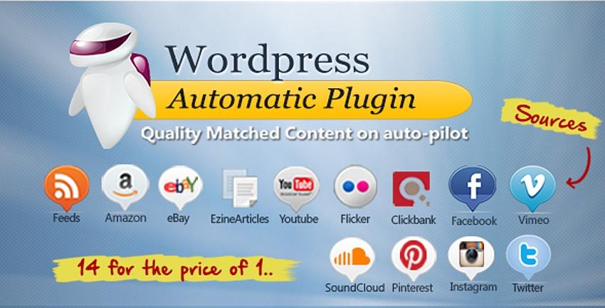 Изображение плагина WordPress Automatic Plugin