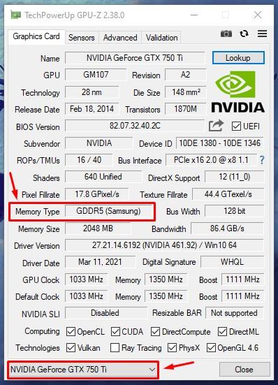 Приложение GPU-Z