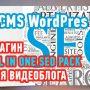 Плагин All In One Seo Pack для видеоблога на WordPress